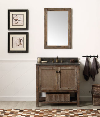 WH5136BR WITH WH8224-M MIRROR-MED