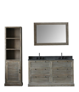 WN7260 WITH MIRROR WN7231-M AND SIDE CABINET WN7224