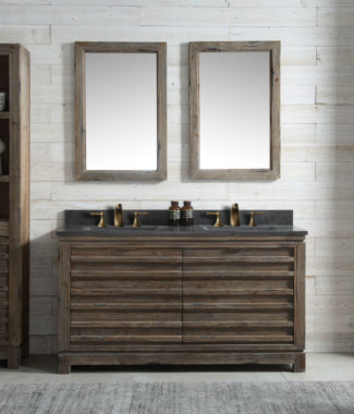 WH8460 WITH TWO MIRRORS WH8224-M AND SIDE CABINET WH8120-MED